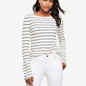Ann Taylor Bell Sleeve Sweater